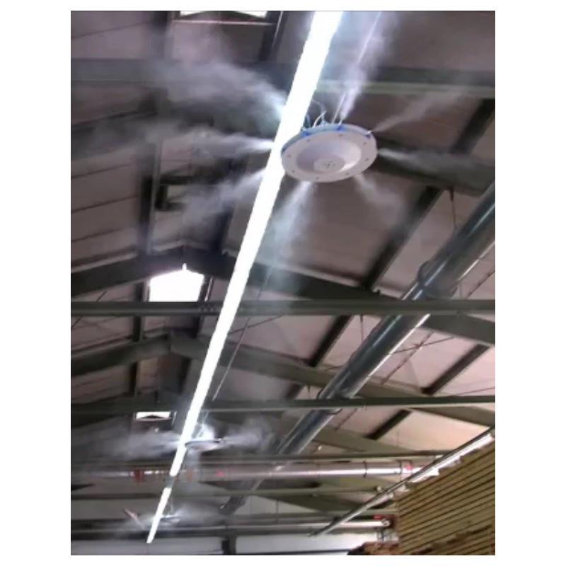 Mennyezeti Párásító Ventilátor, 2 Párahűtő Ventilátoros Rendszer