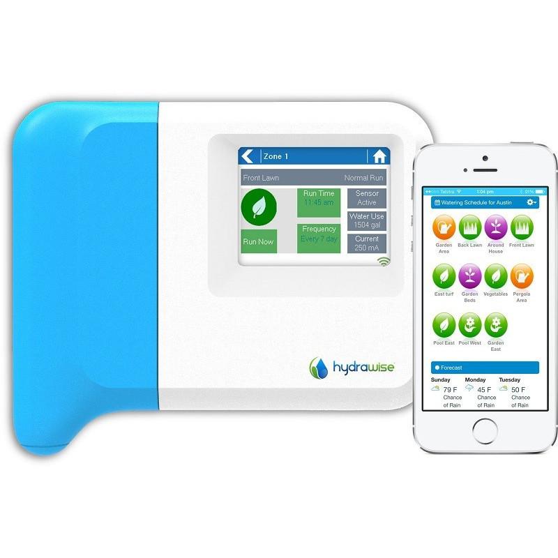 Hunter Hydrawise 6 zónás beltéri Wi-Fi-s öntözésvezérlő automatika
