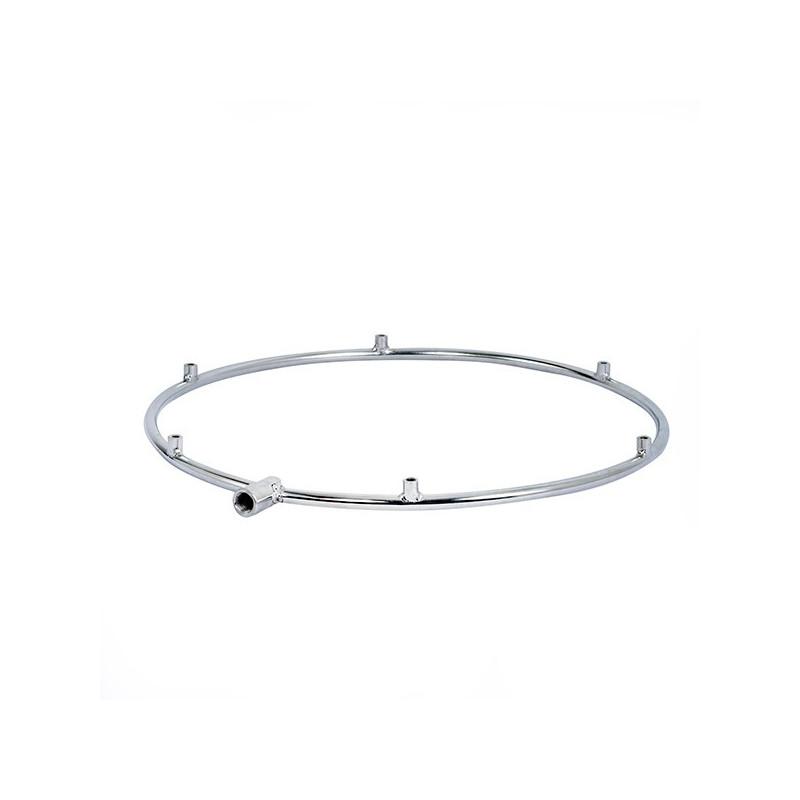 Nagynyomású köd gyűrű, ring  teraszhűtő ventilátorhoz 6 Fúvókás