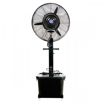Mobil teraszhűtő ventilátor víztartállyal 26col / 650mm