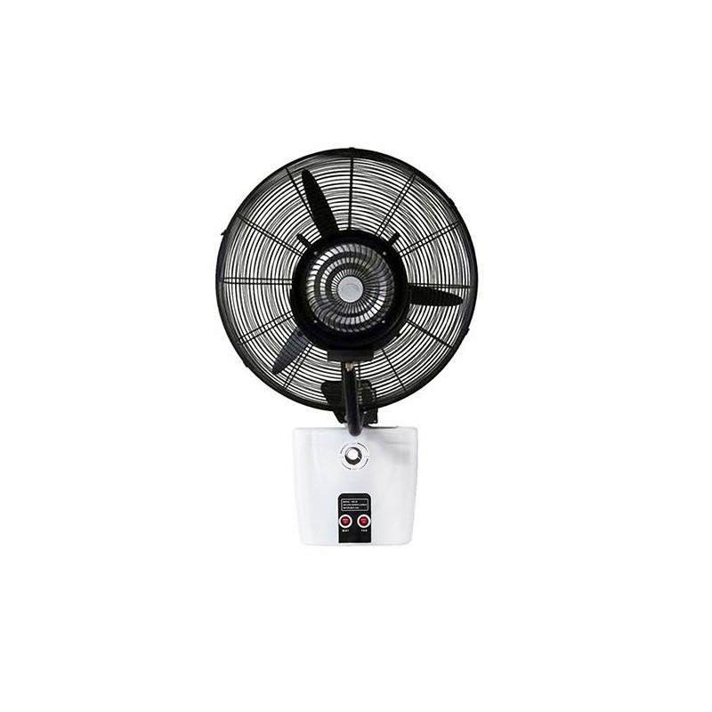 Falra szerelhető teraszhűtő ventilátor víztartállyal 26col / 650mm