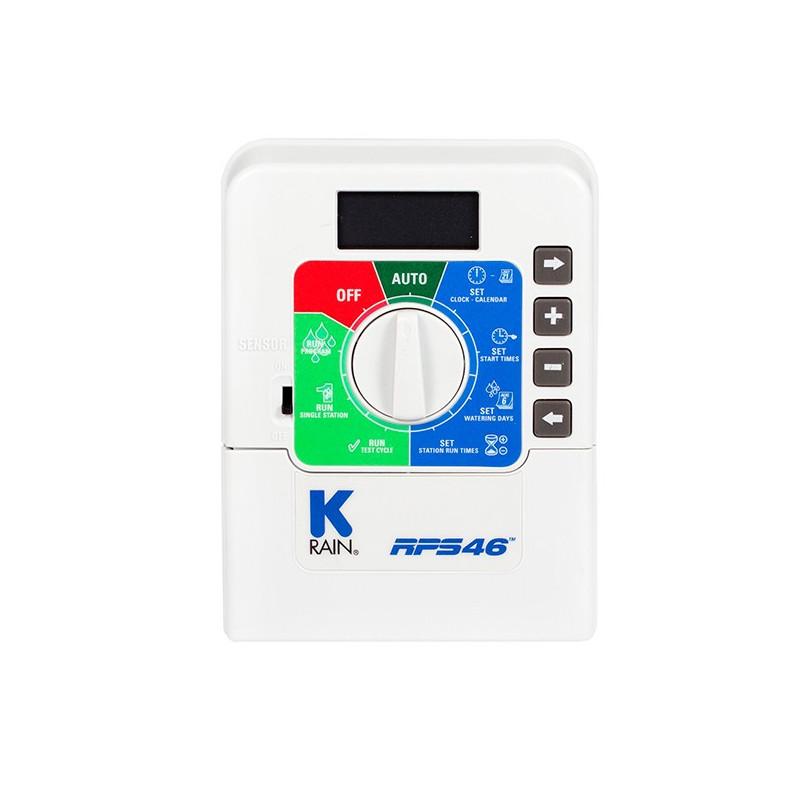 K-Rain RPS-46 6 Zónás Beltéri Öntözésvezérlő Automatika