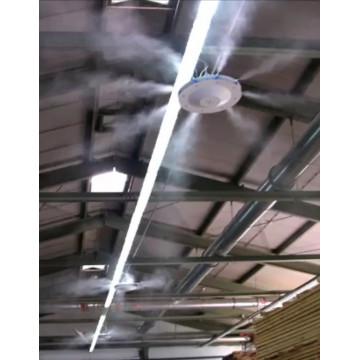 Tecnocooling EuroJet 10 Ventilátoros Párahűtő, Kültéri Klíma Rendszer