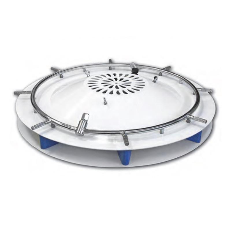 Mennyezeti Párásító Ventilátor, 4 Párahűtő Ventilátoros Rendszer