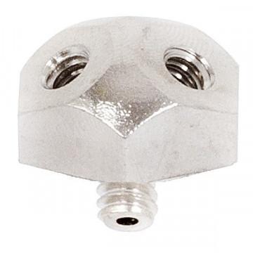 Nagynyomású fúvóka-fej 3 párásító fúvókához 10/24 KM-BM 70 bár