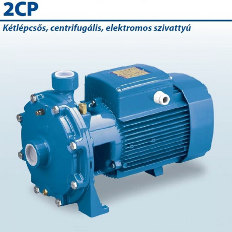 2CP 32/210A Kétlépcsős Centrifugális Önfelszívó Szivattyú / Pedrollo