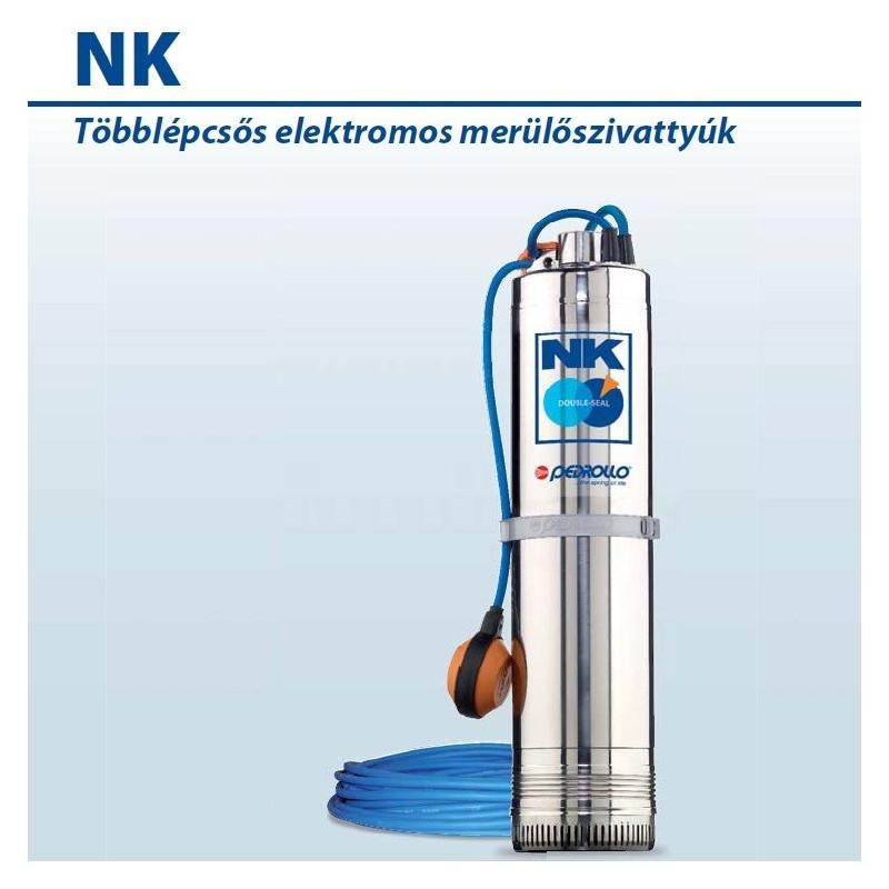 NKm 2/4 GE-N Elektromos Merülőszivattyú Úszókapcsolóval / Pedrollo