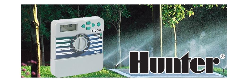 Hunter X-Core 4, 6, 8 Zónás (körös) Beltéri - Kültéri Öntözés vezérlő automata