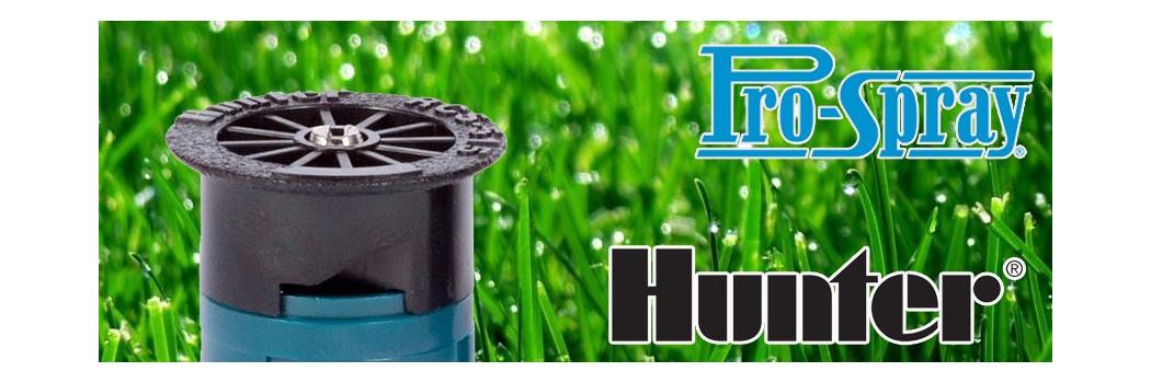 Hunter sávszóró, sávöntöző spray fúvókák